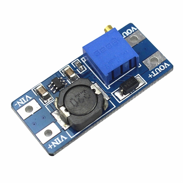 MT3608 DC-DC Step Up Converter Booster Power Supply Module Boost Step-up Board MAX output 28V 2A 2