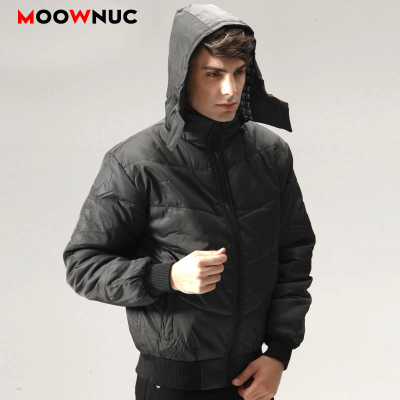Men's Parkas Fit Brand New Overcoat Parkas Coats Windbreaker Winter Fashion Hombre Warm Business Casual Jackets Thick Windproof