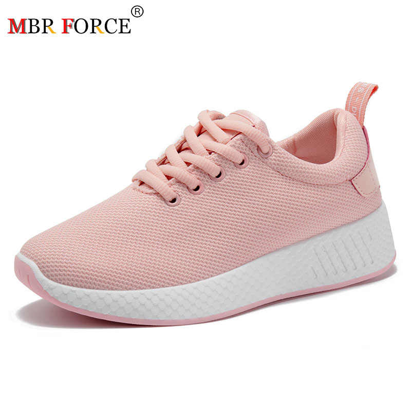 MBR FORCE 2020 Women Fashion Breathable mesh Tenis Feminino Lace Up Outdoor Casual Shoes Lightweight Woman Sneakers Women Shoes