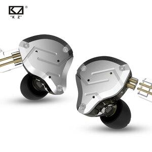 Image 2 - KZ ZS10 PRO 1DD+4BA HIFI Metal Headset Hybrid In Ear Earphone Sport Noise Cancelling Headset AS10 ZSN PRO CA16 ZSX C12 V90 VX T4