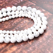 Wholesale Fashion Jewelry Frosted White Pine 4/6/8/10/12mm Suitable For Making Jewelry DIY Bracelet Necklace