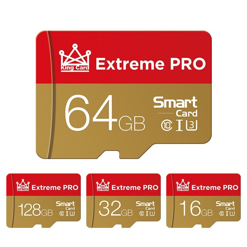 Micro SD карта памяти, класс 10, 128 ГБ, 64 ГБ, 32 ГБ, 16 ГБ, 8 Гб