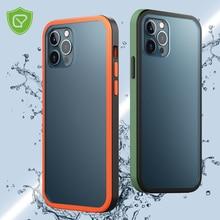 Матовая задняя крышка CHYI для Iphone 12 pro MAX, чехол с защитой от отпечатков пальцев, чехол smaphone для iphone 12 mini 5,4 6,1 6,7 дюймов