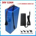 Перезаряжаемые 36 вольт 500 Вт е-байка 36В 12AH Электрический велосипед akku емкостью 12ah е-байка 36В  фара для электровелосипеда в батарея 15A BMS 42В 2A З...