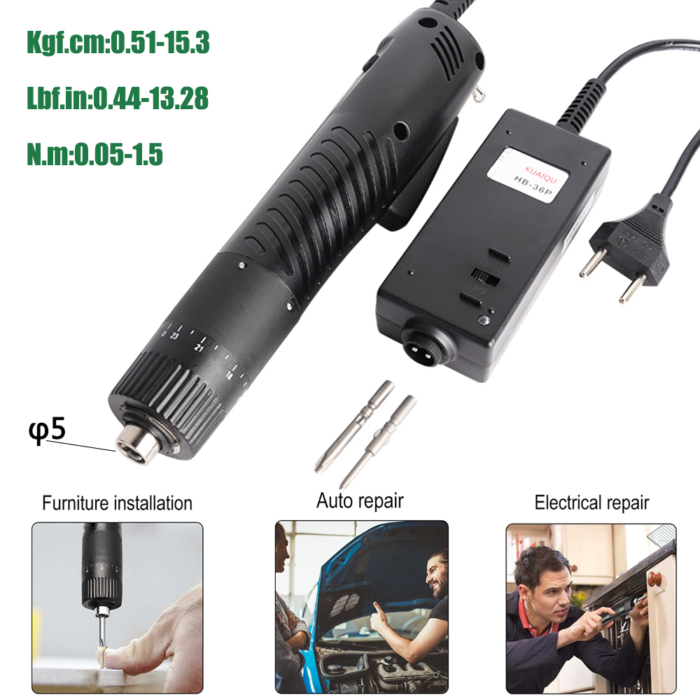Mini φ5 Electric Screwdriver Power Tools Stepless Speed Multifucntion Power Drill With 23pcs Bits Kits Set Household AC110V/220V