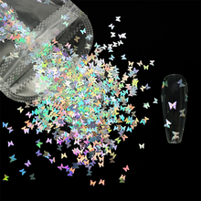 Paillette Sequins Iridescent-Decorations Glitter Nail-Art Heart-Star Flakes Manicures-Accessories