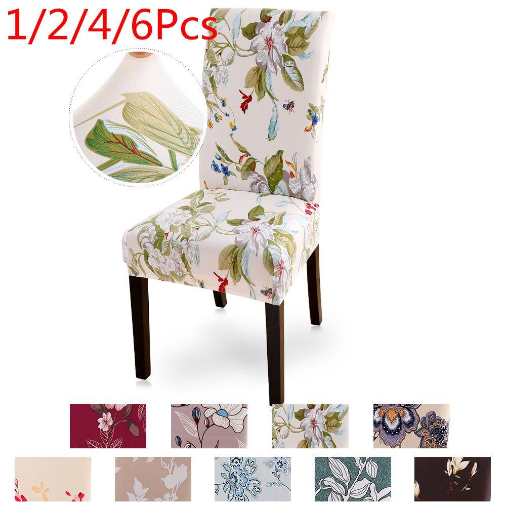 Современные печатные эластичные чехлы на кресла, чехлы на стулья, съемные и моющиеся, растягивающиеся, для банкета, отеля, столовой, офиса, чехлы на стулья|Чехлы на стулья|   | АлиЭкспресс