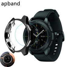 Gear S3 Frontier Cover Voor Samsung Galaxy Horloge 46 Mm 42 Mm Case Galss Bumper Zachte Smart Horloge Accessoires Plated beschermende Shell