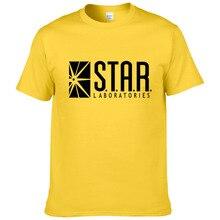 2019 Fashion Star Labs Streetwear Camiseta de algodón de manga corta Hombres Camisetas Ropa de marca Hip Hop Tops Tees #283