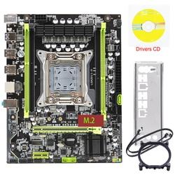 Placa base X79 LGA 2011 M.2 NVME Compatible con 64GB de memoria X79-V2.81A placa base SSD soporte ECC REG Processor Xeon E5 X79