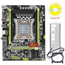 Материнская плата на базе чипсета X79 ЛГА М. 2011 2 поддержка NVMe 64 ГБ памяти на базе чипсета X79-В2.81а материнской платы и SSD suporte ЕСС Рег processador процессоры Xeon Е5
