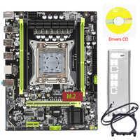 X79 placa-mãe lga 2011 m. 2 nvme suporte 64 gb de memória X79-V2.81A placa-mãe ssd suporte ecc reg processador xeon e5 x79