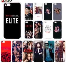 MaiYaCa Spanish TV series Elite Custom Photo Phone Case for Apple iPhone 11 pro 8 7 6 6S Plus X XS MAX 5 5S SE XR cover spanish tv series elite protective tpu phone case for iphone x xs max 11 11 pro max 6 6s 7 7plus 8 8plus se 2020 xr coque