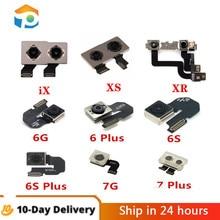 For iPhone 5 5S 6S 6 Plus 6S Plus 7 Plus 7Plus 8 Plus X XR XS Max Rear Camera Back Camera Flex Cable Repair Phone Part