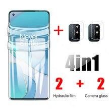 Filme de hidrogel para oneplus8t câmera de vidro oneplus 8 t pro oneplus nord n100 n10 5g n 100 10 8pro um mais 8 t protetor de tela