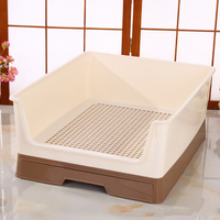 Training Indoor Dog Toilet Mat Tray Plastic Washable Dog pee pads Accessories perros productos pet cleaning supplies KK60CS