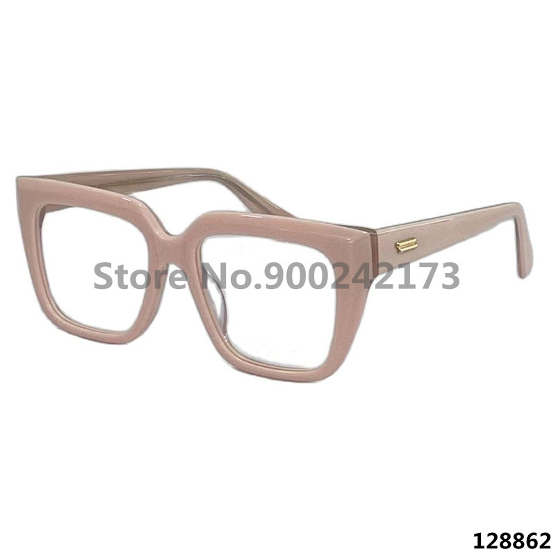 Brand Glasses Frame Women Small Square Luxury Fashion Myopia Glasses Frame With Box Male Anti-Blu-ray Glasses