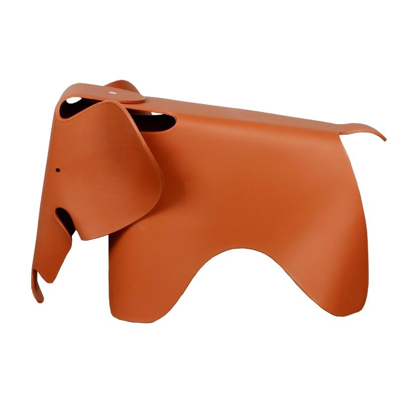 Creative Children's Chair Household Plastic Elephant Cartoon Chair Children's Fashion Animal Chair Colorful Toy Stool