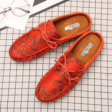 цены New Arrival Half slippers For Men Luxury Brand Casual Summer Slip On Shoes Loafers Designer Men Shoes Half Drag Flats Men Shoes