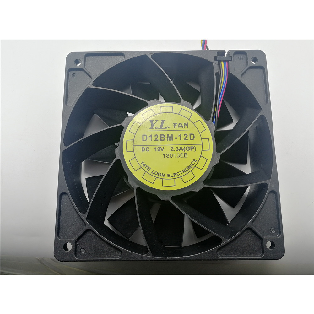 ​Replacement Cooling Fan Cooler For Antminer Bitmain S7 S9 D12BM-12D 12V 2.3A Large Air Volume Cooling Fan Cooler