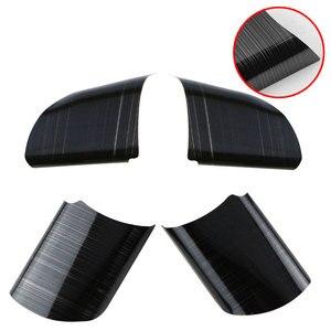 Image 4 - Rivestimento della copertura della decorazione del pannello del volante dellautomobile dellacciaio inossidabile di 4 pz/set per gli accessori di Ford Focus 2 Mk2 2005   2012