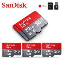 SanDisk Ultra Micro SD 32GB 64GB 128GB 200GB 256GB 16GB a 400GB de tarjeta de memoria microSD A1 Class10 UHS-1 98 MB/S TF/tarjeta SD para el teléfono