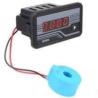 GTBL AC 165-275V 220V Digital Generator Volt Amp Watt Hour Power Frequency Meter Generator Digital Volt Amp Watt