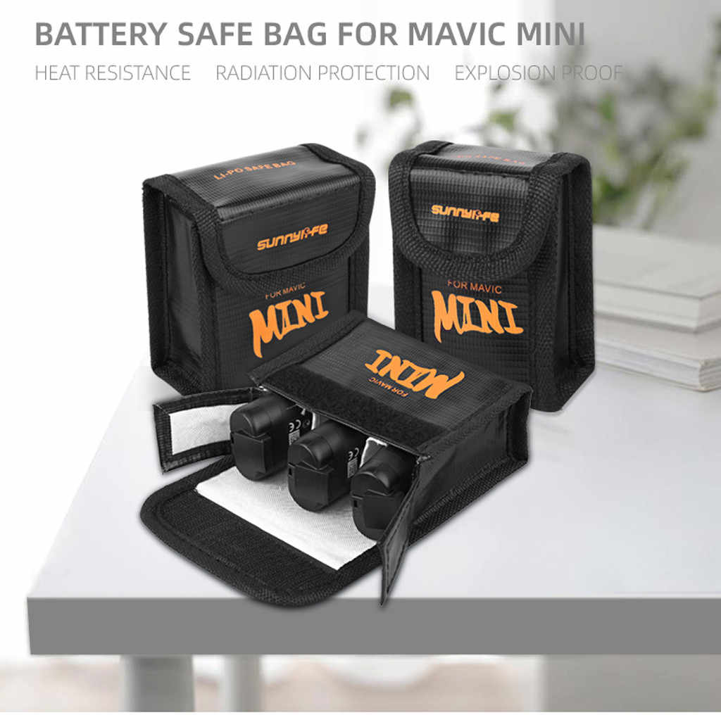 Aigh Quality Accessories Battery Protective Storage Bag LiPo Safe Bag Explosion-Proof For Drones Car Battery explosion-proof bag