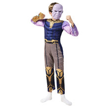 Superhero Advangers Thano Cospaly Jumpsuit Muscle Costume For Kids Boy Halloween Carnival Performance Show Role Play