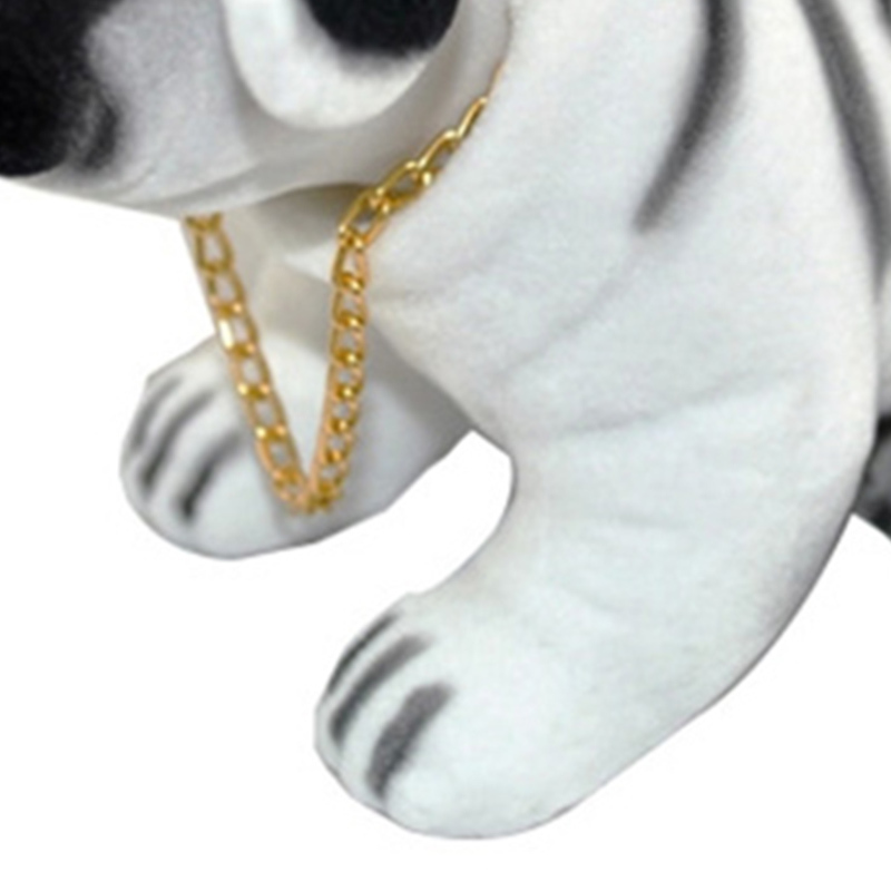 For Pet Fans Home Decors Car Decoration Dog Doll Ornaments Nodding Shaking Head Styling Dashboard Bobblehead Dash Toy Rocking Head Dog Car Accessories  My Pet World Store