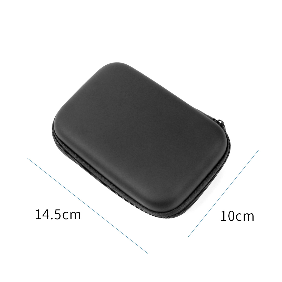 2.5 inch External Hard Drive Disk Protective Case HDD SSD Carry Bag Portable Pouch USB Cable Power Bank Organizer Storage Box