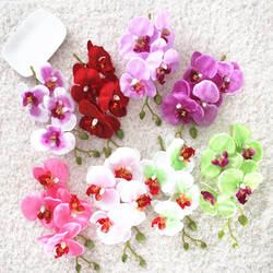 DIY высокая имитация цветов Бабочка искусственная Орхидея цветок декоративный цветок для дома гостиная стол чайники стол флористика фу