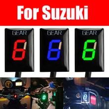 Exibição Engrenagem da motocicleta Para Suzuki GSX-R1000 GSX1400 GSX600 GSF650 GSF1250 SV650 SV1000 V-Strom 650 DL650 DL1000 Indicador de Marcha