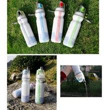 500 мл бутылка для воды MTB велосипед Велоспорт туман спрей бутылка для воды для пеших прогулок Кемпинг бег альпинизм 4 цвета
