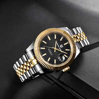 PAGANI DESIGN Luxury Men Watch Stainless Steel Waterproof Mechanical Watch Fashion Sports Watch Men Automatic Watch relogio