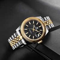 PAGANI DESIGN Luxury Men Watch Stainless Steel Waterproof Mechanical Watch Fashion Sports Watch Men Automatic Watch relogio