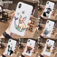 French Bulldog Phone Case for iPhone 11 Pro X XR XS MAX SE 2020 11 7 8 Plus 6 6s 5 5s 7+ 8+ TPU Soft Cover lavaza ybn nahmir soft case for apple iphone 6 6s 7 8 plus 5 5s se x xs max xr tpu cover