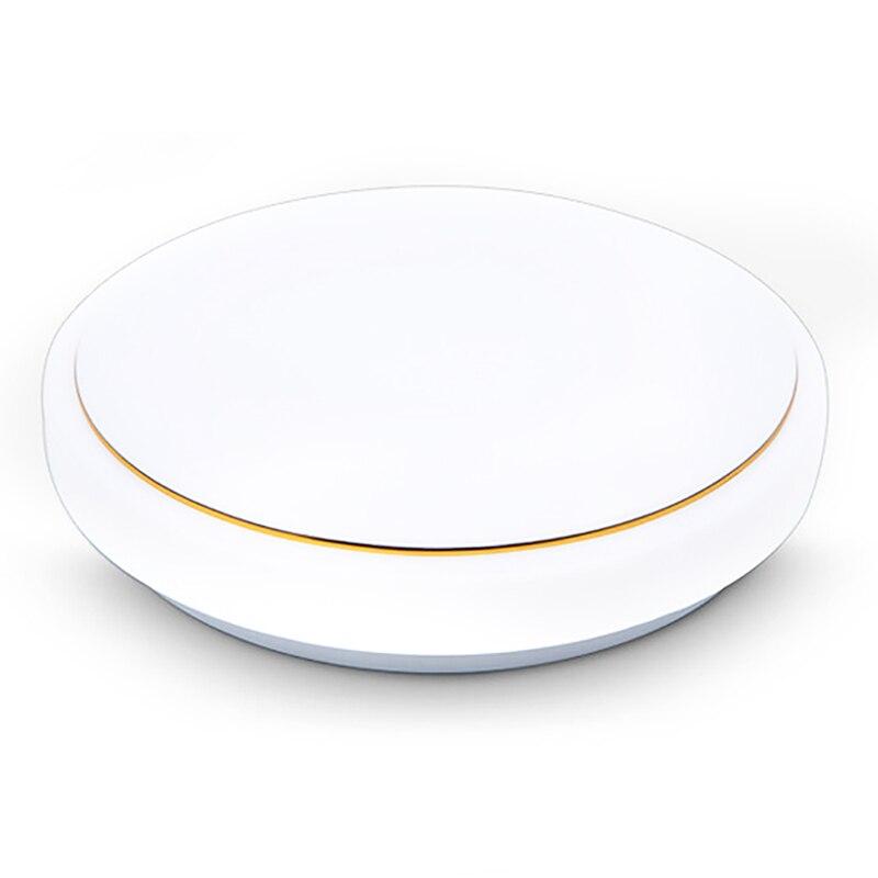 Купить 34 см круглый акриловый простой золотой нитью светодиодный потолочные