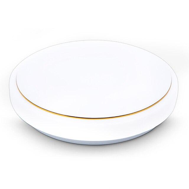 Купить 34 см круглый акриловый простой золотой нитью светодиодный потолочные картинки