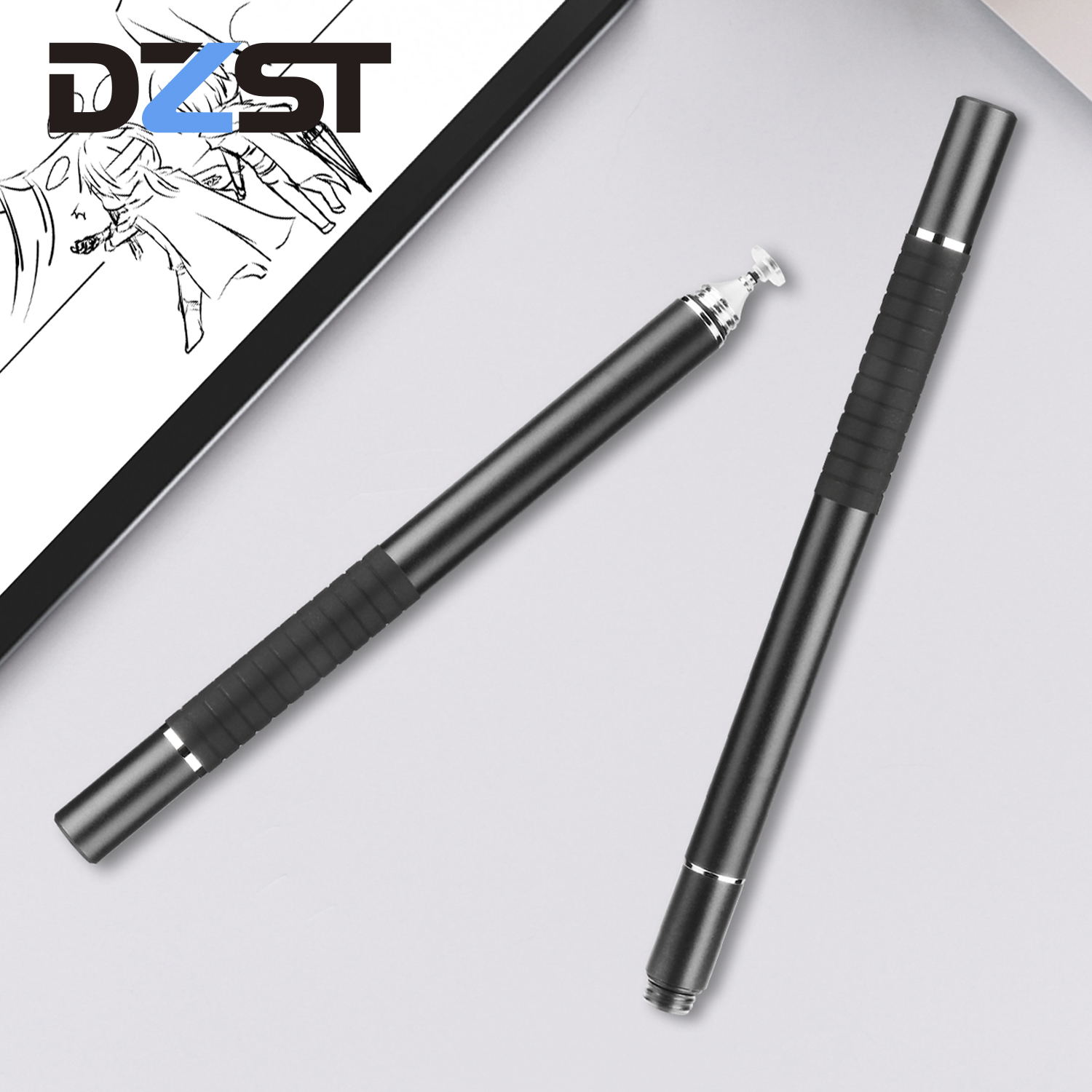 DZLST Stylus Pen High Quality Dual Use Screen Touch Pen Capacitive Touch Pen For IPad IPhone Samsung Xiaomi Huawei Tablet Pen