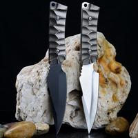 Outdoor knife survival high hardness army knife field straight knife small knife self defense supplies