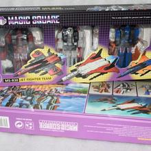 Transformation TOY Ms-Toys Fighter Magic Square Team-Figure-Set New Ms-B30-Jet In-Stock