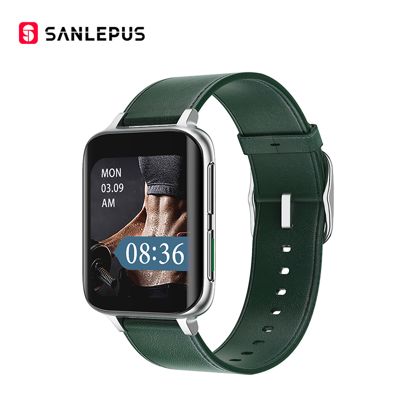 Green-Leather Strap