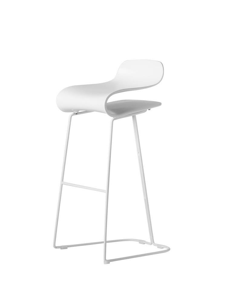Nordic Bar Chair Bar Bar Modern Minimalist Iron Chair High Chair Front Desk Bar Stool Creative Net Red Chair