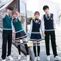 [Ten for] New Style England College Style School Uniform Middle School Students Chorus Performance Wear Vest Suit
