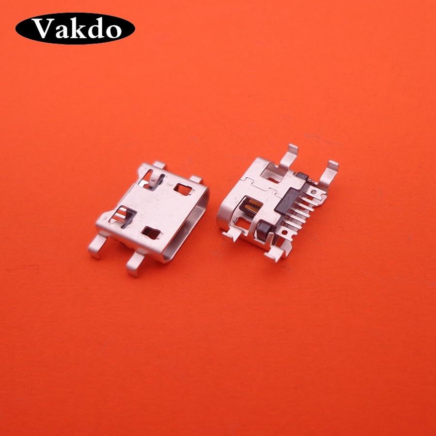2-20pcs Micro Mini USB Jack Socket Connector Charging Port For RAMOS I9 Teclast P80 X89 X80HD X16HD Taipower P89S P90 X98