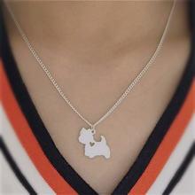 Ожерелье gsky ручной работы в стиле бохо шик west highland white