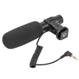 Image 3 - MIC 05 3.5mm סטריאו מצלמה מיקרופון ראיון צילום סטריאו וידאו חיצוני מחשב הקלטת מיקרופון עבור ניקון Canon DSLR מצלמה