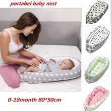 portabel baby nest bed Newborn Milk sickness bionic bed crib cot BB sleeping artifact bed Travel Bed with Bumper Baby SLEEP POD(China)