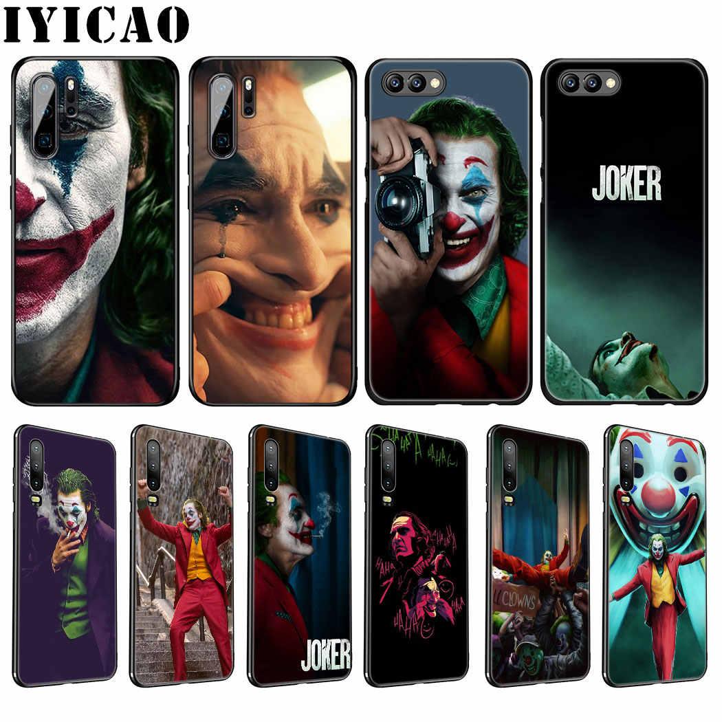 Joker película Joaquin Phoenix suave caso de Huawei P30 P20 Pro P10 P8 P9 Lite Mini 2017 P Smart Z Plus 2019 cubierta